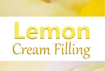 CREAM FILLINGS FOR CAKES, PIES ETC.