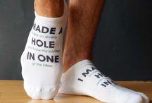 Gift Ideas - Custom Printed Socks / Custom printed gift socks for everyone on your shopping list!