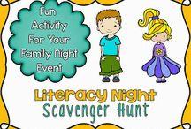 Literacy night / by Regina Colombi