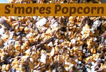 Popcorn recipes to try / by Sabrina Meichtry