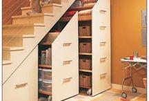 Armário em baixo da Escada