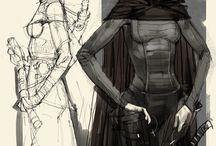 Concept Art / Идеи, работы, которые вдохновляют. Рандомные, всё, что понравилось.