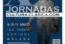 Malaca MMXIV / Recuerdos de las X Jornadas de CulturaClásica.com celebradas en Málaga del 9 al 11 de mayo de 2014.