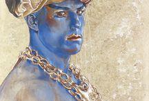 Sean Rush Fine Art - Blue Series