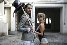 Hugo and Natalie / Made in Chelsea celebrity photo shoot; London 2013