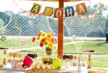 party - luau