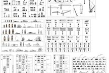 Transport and diggers bundle / We have this TRANSPORT AND DIGGERS BUNDLE, 6 CAD collections for the price of 3!
