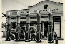 Old Gas Stations And Pumps / by Darwin Lisk