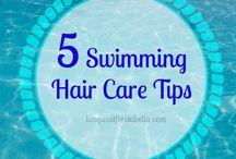 Swimming Hair Tips