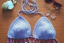 bikini top and crop top