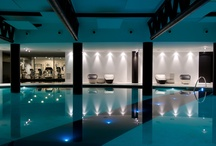 Spa & Wellness / Modern, design spa in Tuscany, Italy