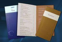 Design & Print / Breve muestra de lo que se puede diseñar e imprimir para tu negocio o empresa