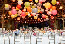 Hochzeits Dekoration - Wedding ambiance / Wow! Es gibt einfach so unzählig viele, tolle und kreative Möglichkeiten aus jeder Hochzeitslocation etwas einzigartiges zu machen! Seht selbst: