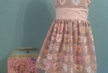 Handmade Girls Dresses Party Boo Style! / Handmade dresses in fabulous fabrics.