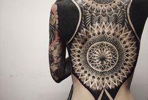 Tatuagem / Diferentes estilos da arte corporal.