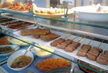 Gastronomia Cotto e Mangiato / Alcuni esempi dei piatti della gastronomia COTTO E MANGIATO di Rimini