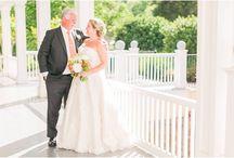 ~Real Weddings~ Lori & Brian / Lori & Brian's Hall Wedding - Colorful spring wedding -  Heather Chipps Photography