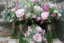Wedderburn Castle July Wedding / A peak at some of the flowers the Stockbridge Flower Company created for a rustic wedding at the beautiful Wedderburn House.