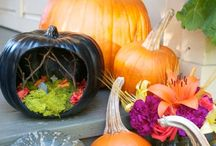 Pumpkin Diorama / Easy fun craft project for Halloween!