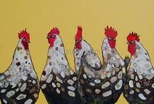 Schilderijen vogels