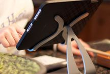 iPad Kitchen Stands / Great iPad Stands and Tablet Stands for the Kitchen cooking those great chef recipes. / by Thought Out