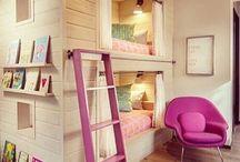 Ideer til pigeværelser