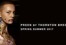 | SS17 | / Preen by Thornton Bregazzi Spring/Summer 2017