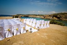 New Wedding Destination - Ibiza - Elegant Beach / We're excited to announce that we will be now be planning weddings on the beautiful island of Ibiza! Here is our Elegant Beach wedding venue..