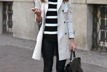 Como lookear un abrigo blanco