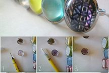 création bijoux et porte clé