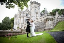 Kinnettles Castle Wedding Venue / Kinnettles Castle is the wedding venue of your dreams. Private, secluded and sitting majestically in 44 acres of manicured parkland it is an enigmatic and enchanting venue.  View more photos, video, wedding offers and full details via: http://www.weddingvenuesinscotland.co.uk/kinnettlescastle.htm #scottishweddings #weddingvenues