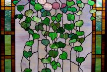Art - Stained Glass / Painting glass panels, doors, windows, screen-lights, sculptures  and glass crafts.  / by Ziad Shannak