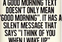 ~•♡Good morning love♡•~