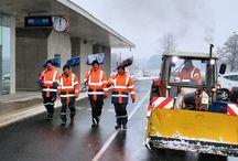 Maschinenring Winterdienst / Wir räumen Schnee, streuen bei Glatteis und sorgen dafür, dassvdu im Winter sicher ankommst. Hier ein Einblick in unseren Arbeitalltag für >17.000 KundInnen.