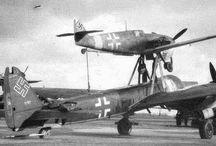 WK II Mistel-Transporter / Huckepack-Flugzeuge