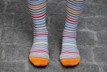 I love fun socks!! / by Shannon Evans