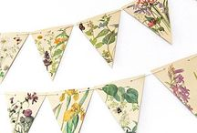 Decorative Bunting And Garlands