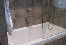 Bath shower combination