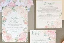 Rose Blush - wedding stationery collection
