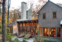 Mountain Top / Architecture, interior design and garden elements of mountain homes. / by Martha Winebarger