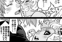 Kirishima x Ashido