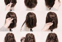 Haare und Zöpfe