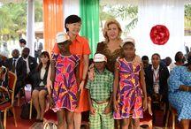 Dominique Nouvian Ouattara / Dominique Nouvian Ouattara visite le groupe MISA