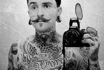 Men/Mustache/Tattoo