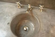 tadelakt / I first saw this stunning finish in St. Tropez many years ago.. it is making its way to American design