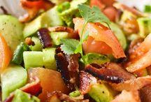 yummm paleo salads / by Mar P