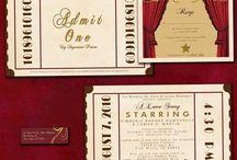 Vintage Theatre Wedding