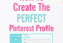 How to create pinterest profile