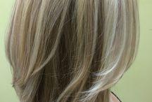 Three shades of blonde
