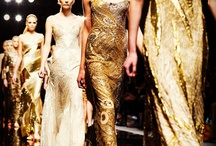 gold / Wedding inspiration: the color gold